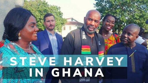 Steve harvey in Ghana - year of return