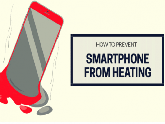 smartphone iphone battery heating up